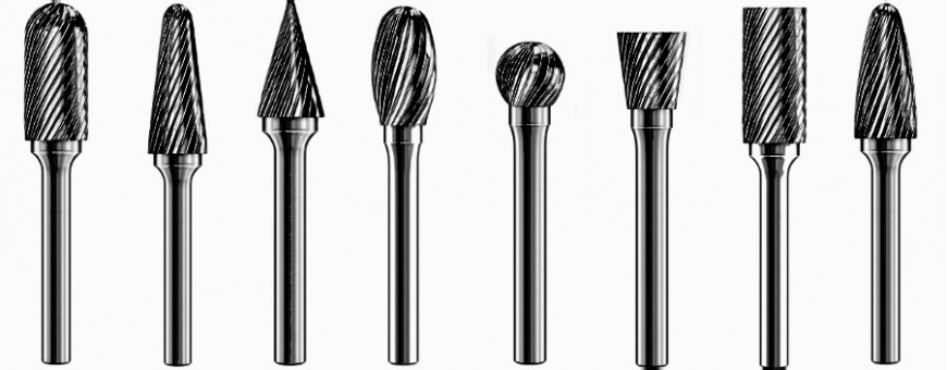 Carbide Burs and Twist drills