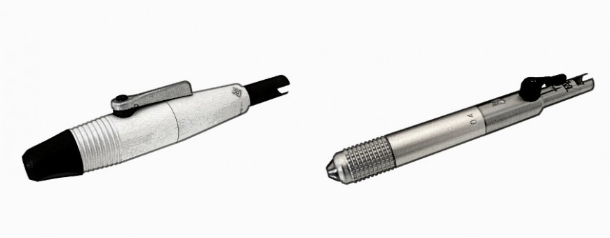 Rotary Handpieces for goldsmiths and dental laboratory