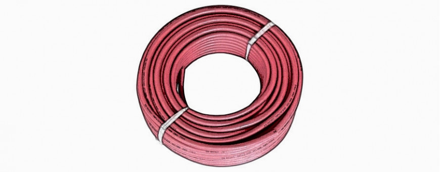 Gas and welding hoses