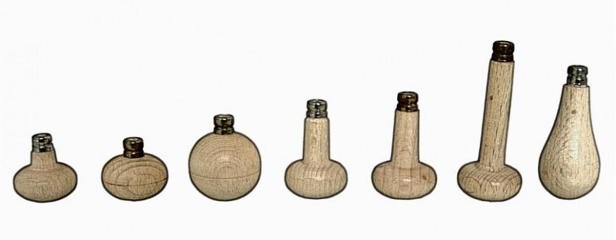 Manici in legno per bulini