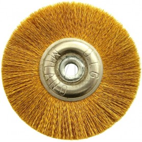 Jota Wheel Brush Ø 50 mm - Brass wire