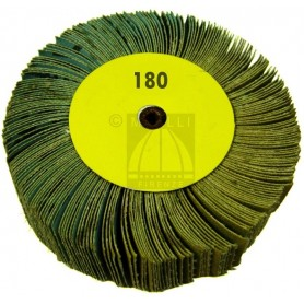 Flap wheel mm 100 x 30 - grit 180