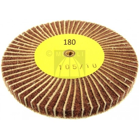 Combi Flap wheel mm 105 x 10 - grit 180