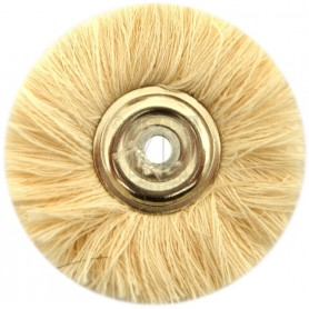 Jota Wheel Brush Ø 50 mm - White cotton yarn