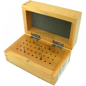 Wood Burs Organizer Block