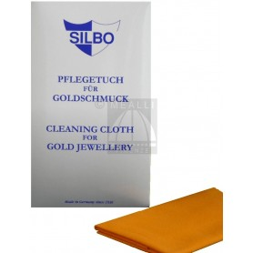SILBO Cleaning Cloth for Gold Jewellery