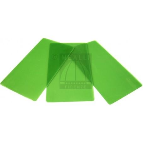 GREEN wax Slices