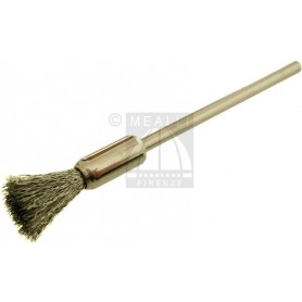 Crimped Steel Wire End Brush Ø 9 mm, mounted