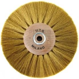 Circular Brush Ø 80 mm 4 Rows - Brass wire