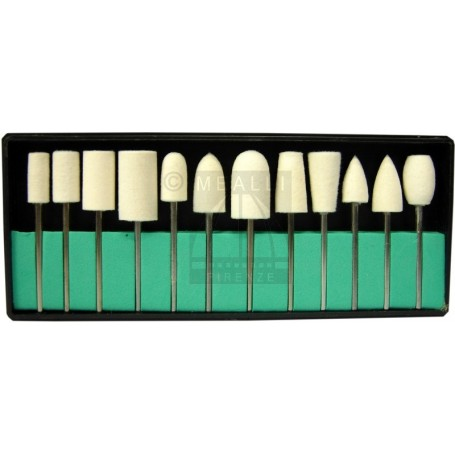 Assorted tips on shank 2.35 mm - 12 pcs.