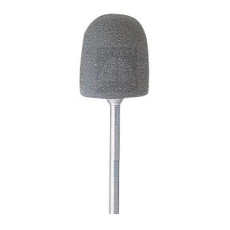 Cono abrasivo in silicone, montato su gambo 2.35 mm