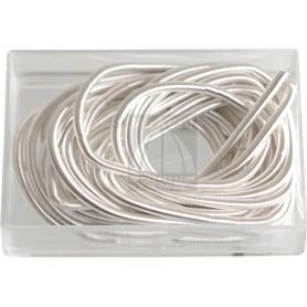Canottiglia colore argento mm 1,00