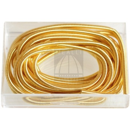 French Wire Yellow-Finish mm 0,80