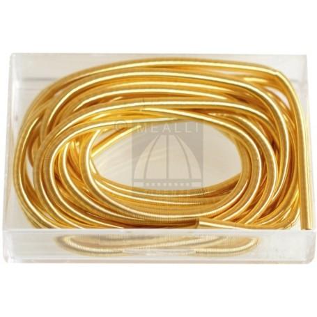 Canottiglia colore oro mm 0,80