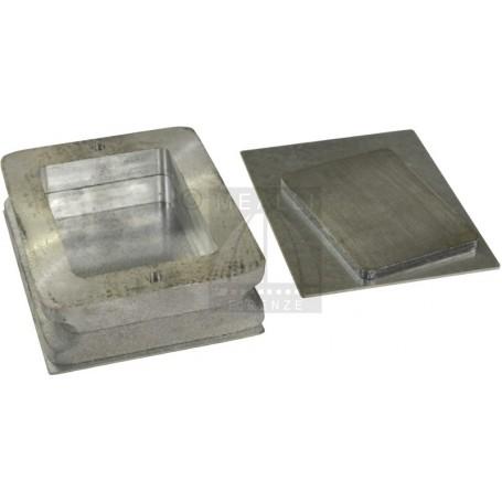 Staffe in alluminio per microfusione