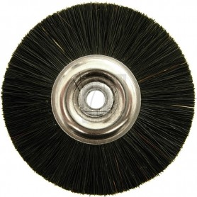 Jota Wheel Brush Ø 50 mm - Stiff black chungking bristle
