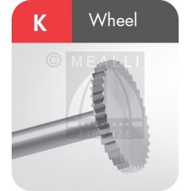 MAILLEFER Wheel Burs Fig. K