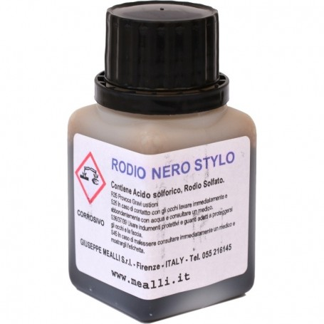 Black Rhodium Pen-Plating Solution