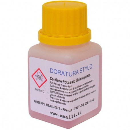 Yellow Gold Pen-Plating Solution