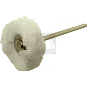 Wheel Brush Madapolam cloth Ø 22 mm