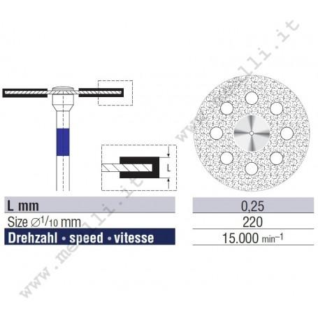 Disco diamantato Superflex Ø 220 mm