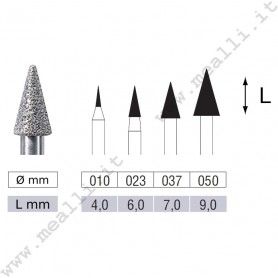 Conical Diamond Bur