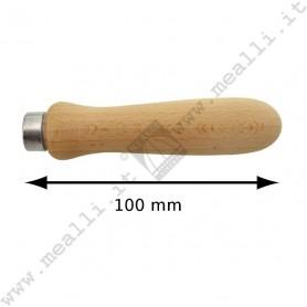 Manico in legno per lime