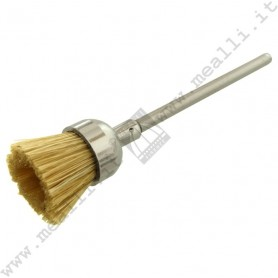 Stiff White End Brush Ø 11 mm, mounted