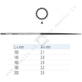VALLORBE Needle File Round