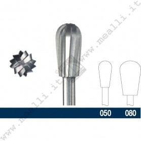 Round cylinder Bur for Wax