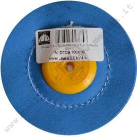 Blue cloth Buffing Wheel Ø 100 mm