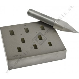 Rectangular Bezel Forming Punch Set 14 - 21 mm