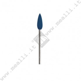 Mounted Blue Silicone Cone polisher