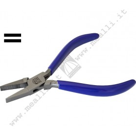 Flat nose Knurled Jaws Forming Plier