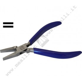 Flat nose Smooth Jaws Forming Plier