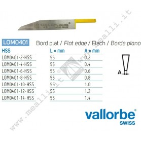 Vallorbe HSS Flat Graver for engraving machines