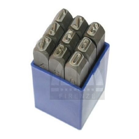 Numerical Marking punch set  - mm 1.0