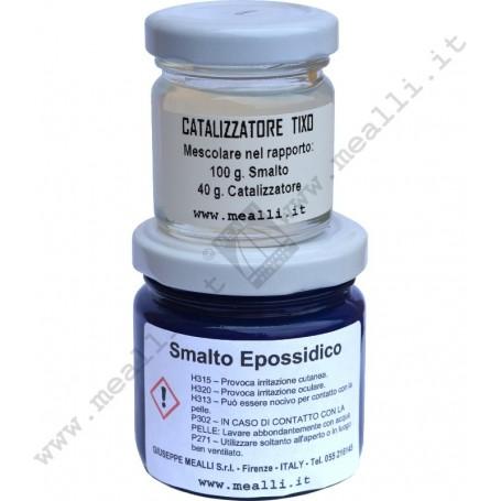 Epoxy enamel with catalyst Blue