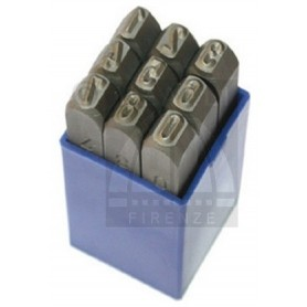 Numerical Marking punch set  - mm 1.5