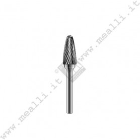 Tree with Radius End Carbide Bur