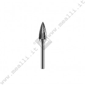 Tree with Pointed End Carbide Bur
