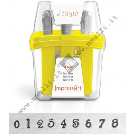Numerical Marking punch set  - mm 4.0 Jeanie
