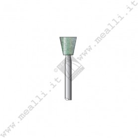 Green Silicon carbide Inverted Cone Bur