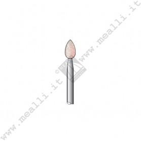 Pink Corundum Flame Bur