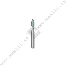Green Silicon carbide Flame Bur