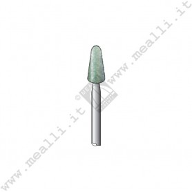 Green Silicon carbide Cone Bur