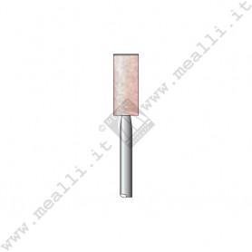 Pink Corundum Cylinder Bur