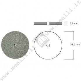 Green Silicon carbide Wheel Ø Ø 33 x 3 mm