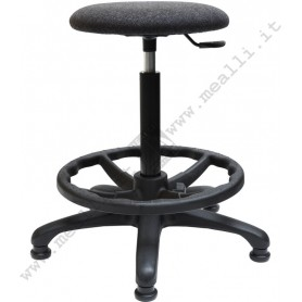 Ergonomic laboratory stool