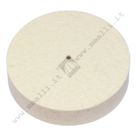 Solid Felt Wheel Ø 80 x 20 mm